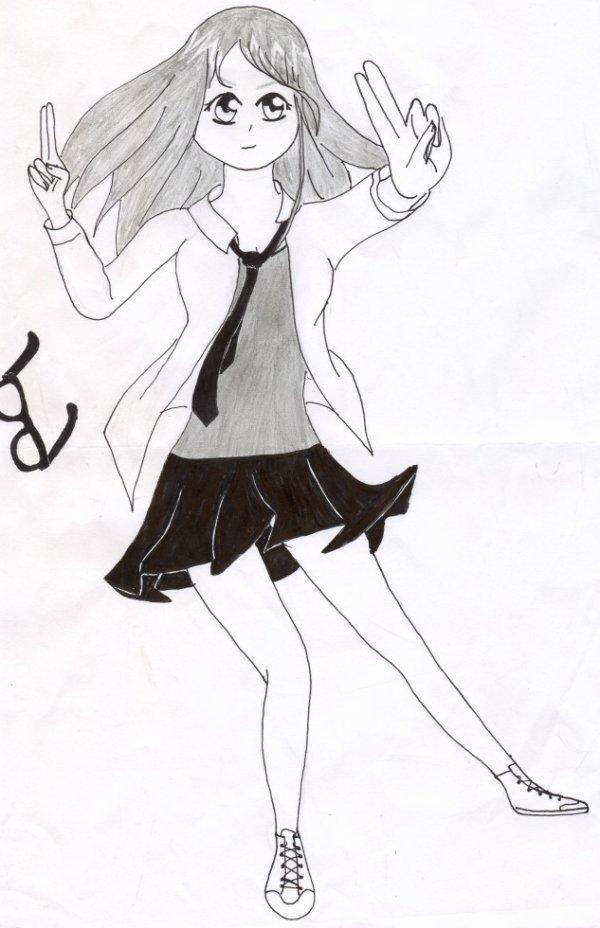 Pour mon amie dessin n°2