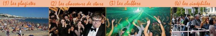 Mardi 21 mai, les 4 publics de #Cannes2013