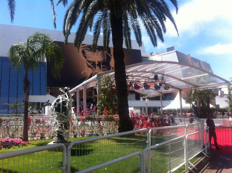 C'est parti, sous le soleil. #Cannes 2014 est lancé!