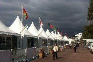 Jeudi 22 mai: la pluie masque l'émotion suscitée par le magnifique Next to Her à #Cannes2014