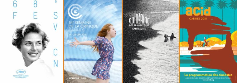 #Cannes 2015 s'éveille enfin, mon blog sort de l'hibernation
