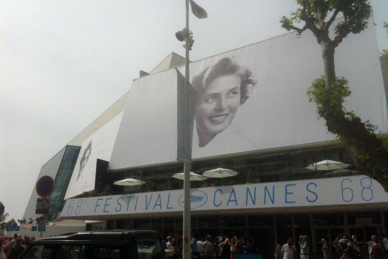 Jeudi 14 mai, 1er jour - la grande salle Lumière ouvre au public de #Cannes2015