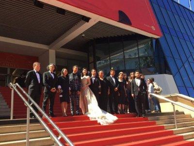 Dimanche 21 mai #Cannes2017, les marches au Théâtre Debussy