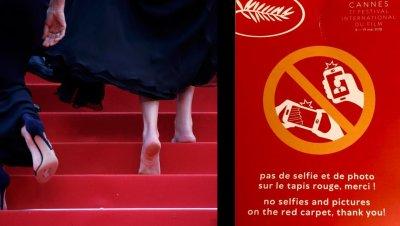 Vendredi 11 mai, no selfie #Cannes2018