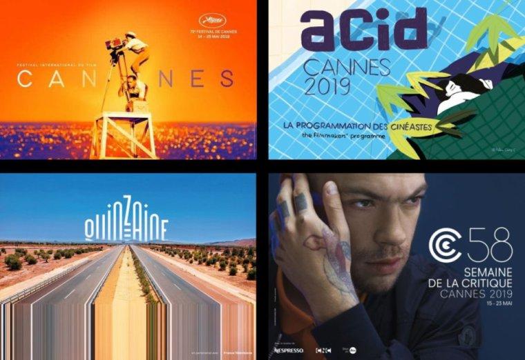 Les affiches du Festival de Cannes 2019 sont prêtes, c'est le signe que l'ouverture n'est pas loin!