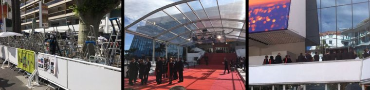 Mardi 14 mai 2019: Les derniers préparatifs vont bon train à #Cannes2019