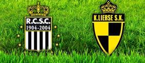 RCSC-Lierse : le match.