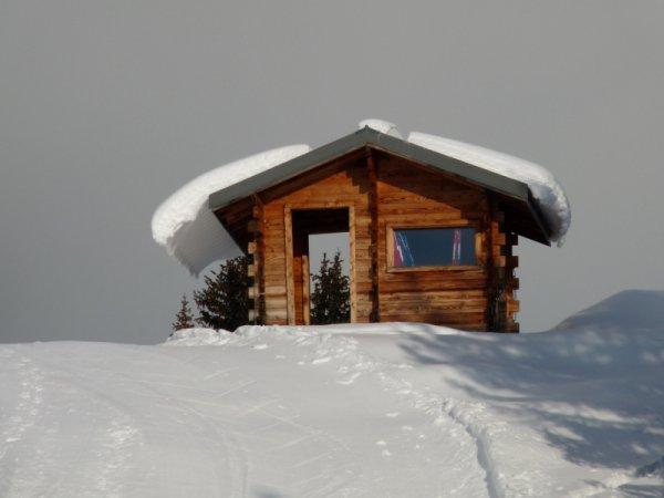 Une couverture polaire ...pour toit..frileux ?
