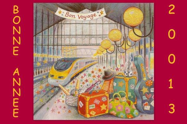 BON VOYAGE DANS LE TRAIN DE 2013