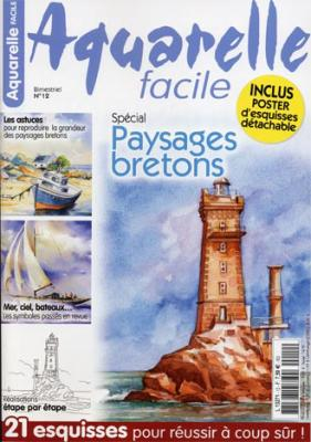 088 aquarelle facile n 12 la bretagne artiste peintre for Aquarelle facile