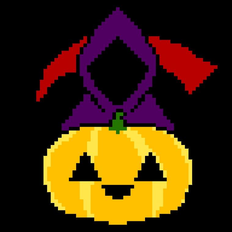 Pixel Art : Halloween
