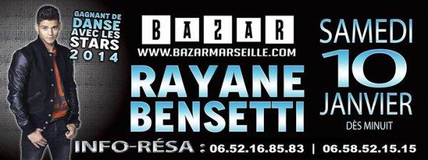 Booking Rayane Bensetti à Marseille ♥