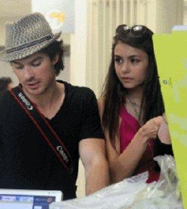 SCOOP . Nina et Ian à Paris .