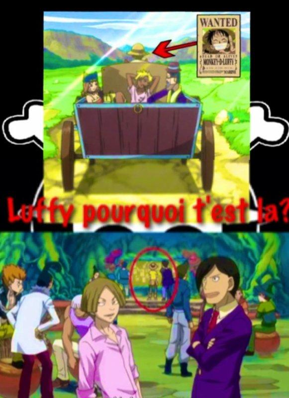 Luffy T'est Vraiment Partout