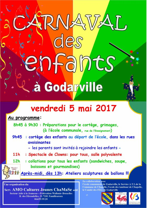 2ème carnaval des Enfants à Godarville