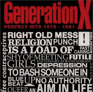 GENERATION X // PERFECT HITS 1975 - 1981