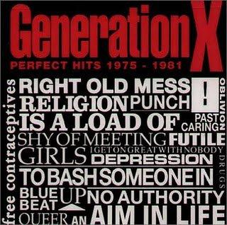 GENERATION X // PERFECT HITS 1975 - 1981