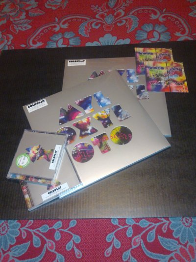 COLDPLAY // MYLO XYLOTO (vinyl + single + cd)