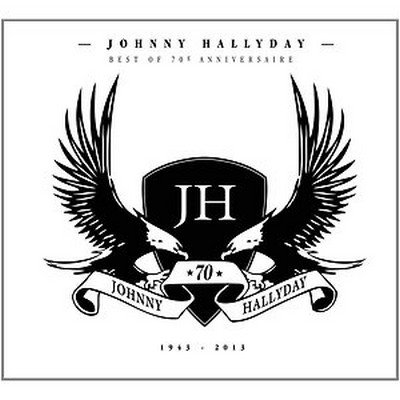 JOHNNY HALLYDAY // BEST OF 70 (quadruple cd)