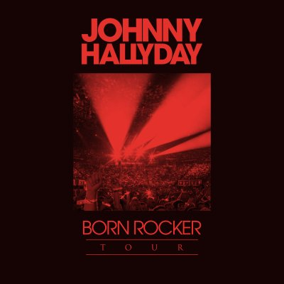 JOHNNY HALLYDAY // BORN ROCKER TOUR (double dvd + cd bonus)
