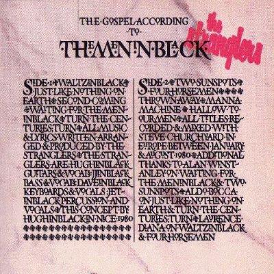 THE STRANGLERS // THE GOSPEL ACCORDING TO THE MENINBLACK