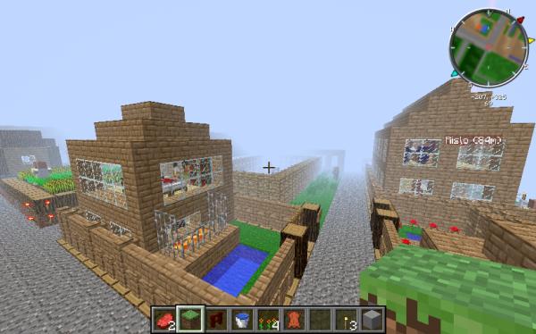 Quelques créations minecraft.