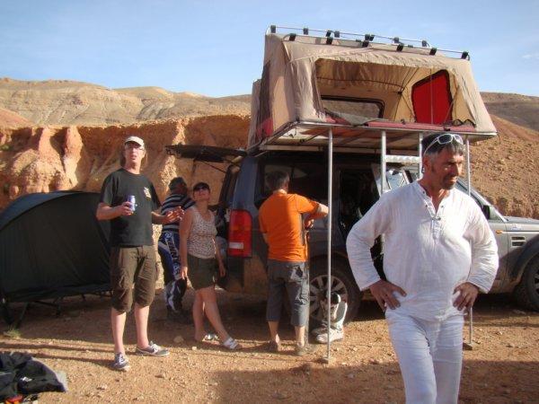Maroc 2013  Bivouac