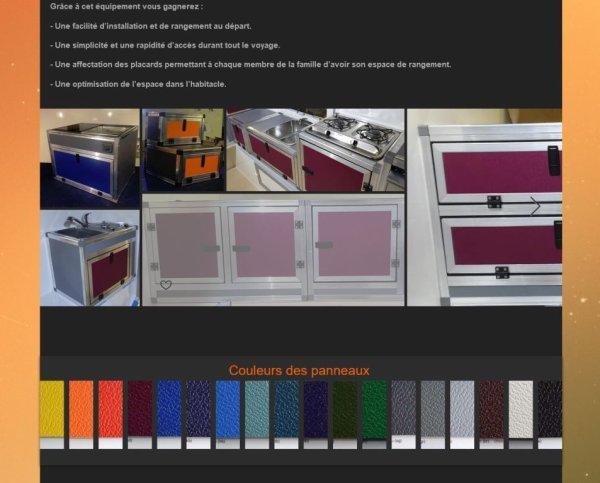 skpade, des meubles aux couleurs variées