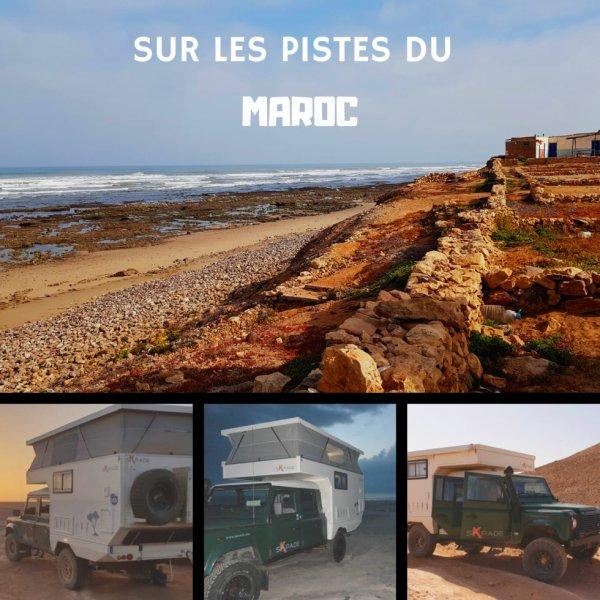 Voyage au maroc avec une skpade