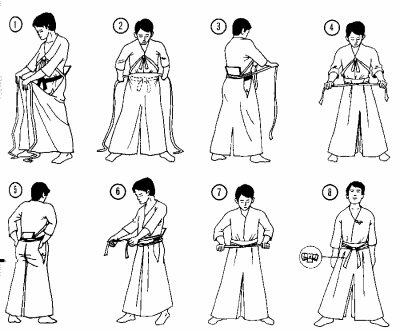 Comment mettre son Hakama ?