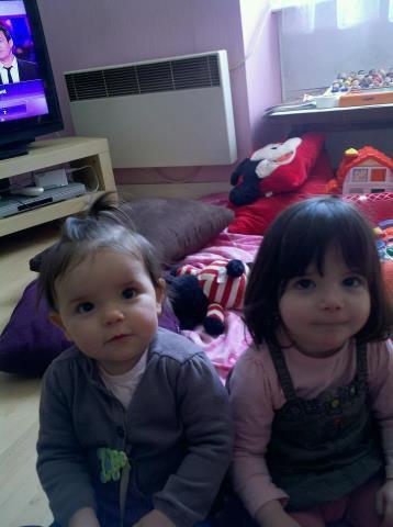 mes deux petit fille   des cousine