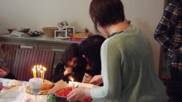 anniversaire louane et de mamie