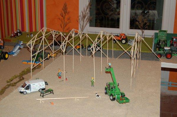 Construction hangar