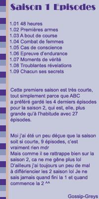 ■ Rubrique Saison / Episode ■________________>>______________Saison 1________________>>_______________ .Créa / Déco