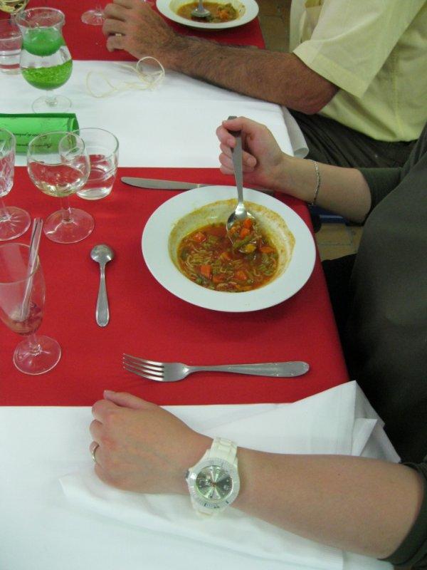 la fameuse soupe au pistou :)