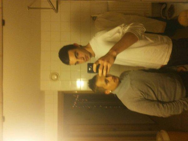 Moi et le frangin ;)