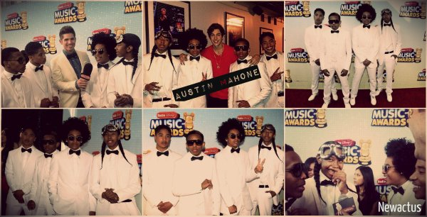 27/04/13 Les Mindless Behavior au Radio Disney Music Awards