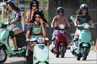"""Premières photos du tournage de """"Spring Break"""" qui a débuté ce Mercredi 29 Février, on peut aperçevoir Selena Gomez, Vanessa Hudgens, Ashley Benson et Rachel Korine..."""