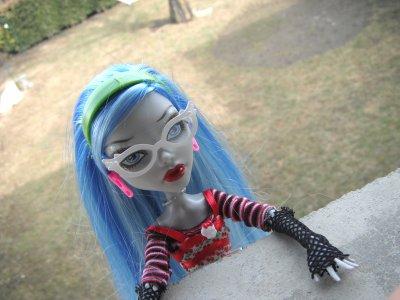 Séance photo dans le parc avec Ghoulia !:)