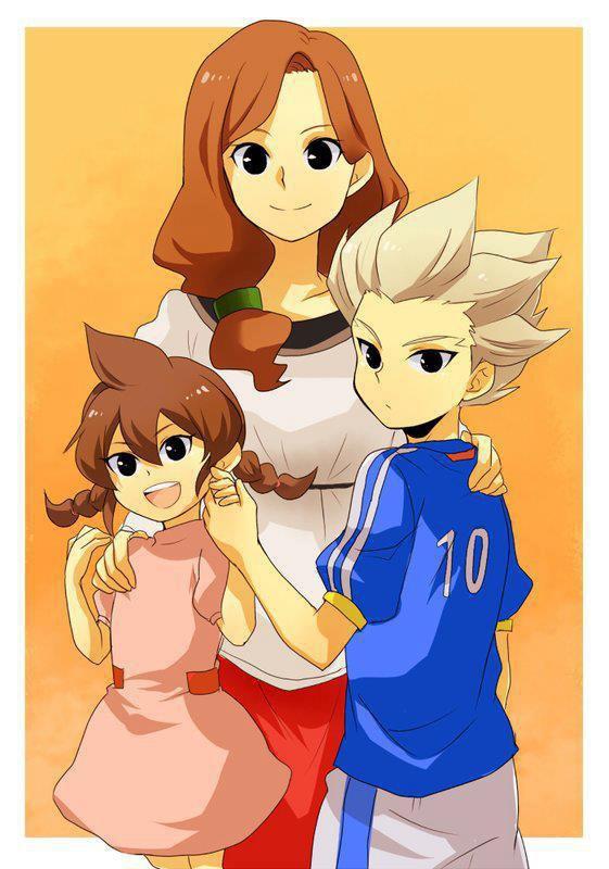Axel et sa famille.