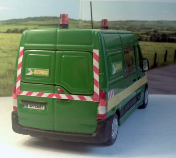 Miniature Renault Master SCREG