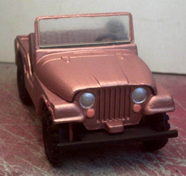 restauration de jeep