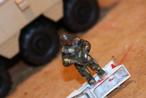 Maquette Militaires