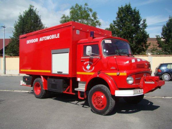 Véhicules de Pompiers