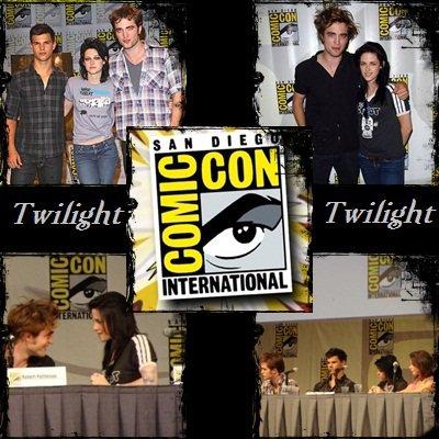 Le Cast De Breaking Dawn Part 1 au Comic Con !