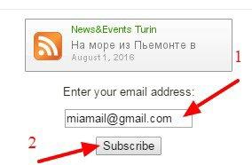 Subscribe NewsEvents Turin Iscriviti sul sito