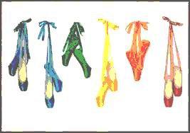 pointes multicolores ^^