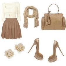 tenue marron