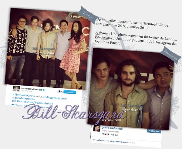 NEWS du 28/09/13 • De nouvelle photo sont parue aujourd'hui. •