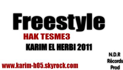 Fresstyle hak tesma3 (2011)